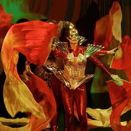 Cabaret VlV - Prophecy - Voiles couleurs