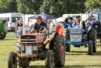 Tractors at Speech House Carnival of Transport Show 2016 - Set 2