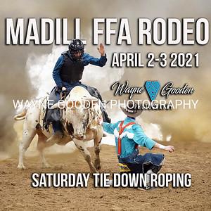 Saturday Night Madill FFA Tie Down Roping