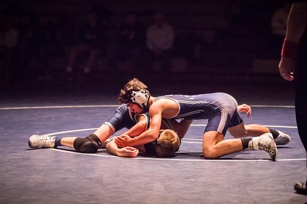 HHS Wrestling vs Twinsburg (2019)