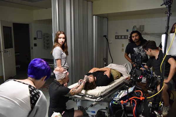 A GHOST STORY  (Behind the Scenes)  Casey Afleck and Rooney Mara