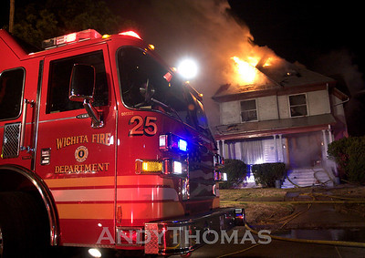 House Fire 1137 N. Broadway Ave. (3/10/09)