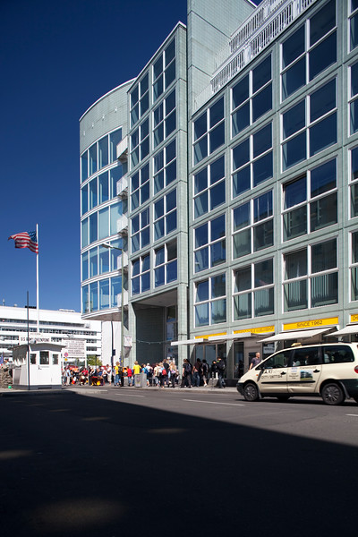 Checkpoint Charlie, Friedrichstrasse, Berlin, Germany