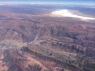 Views from the Plane - South America '14