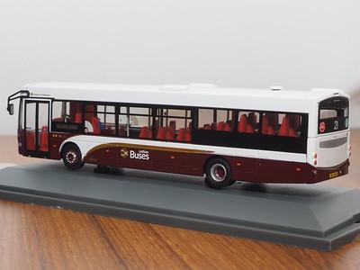 Corgi OOC OM46712B Lothian Buses Volvo B7RLE Eclipse route 21 Leith Links