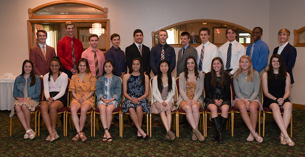 2019 Hunterdon-Warren Scholar Athletes