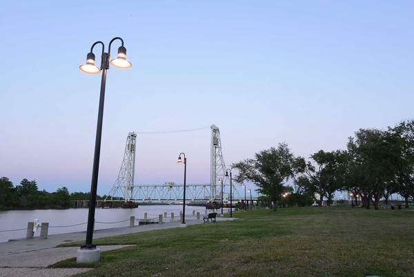 2013-05-05 River Front Park Lighting