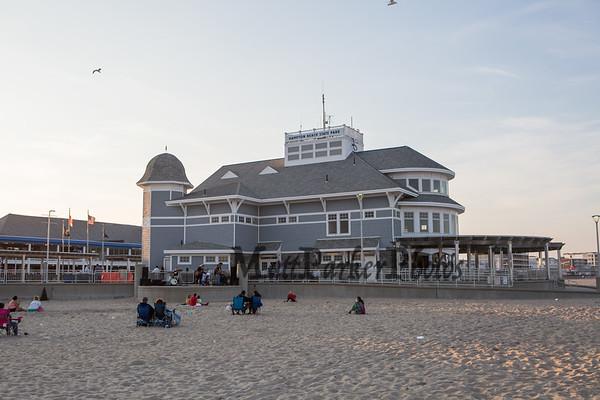2020-7-7 April Cushman Band and Hampton Beach