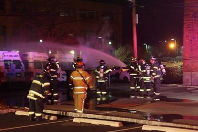 Leonia Dumpster Fire 1-28-17