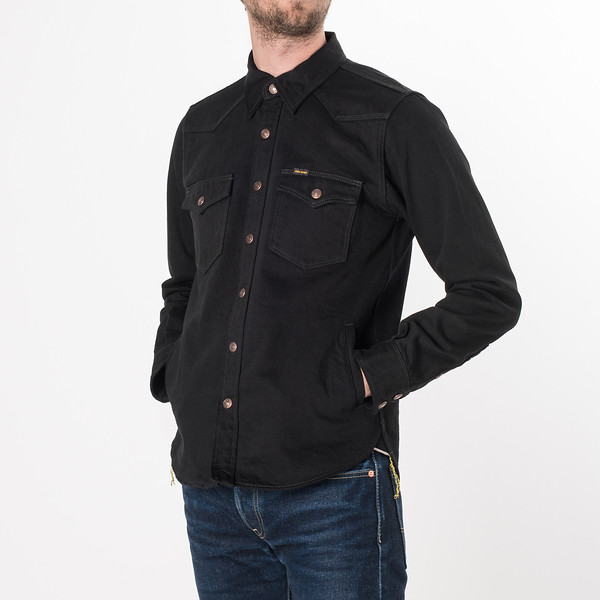 IHSH-166 - Superblack 12oz Selvedge Denim CPO Style Western Shirt-6276.jpg