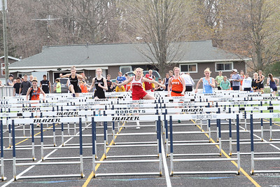 Boys and Girls High Hurdles - 2013 Brethren Invite