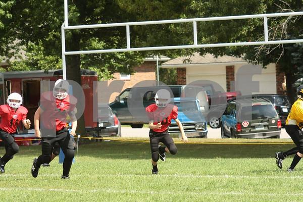 7th Grade-Odessa Bulldogs vs Sedalia Tigers 9-26-09
