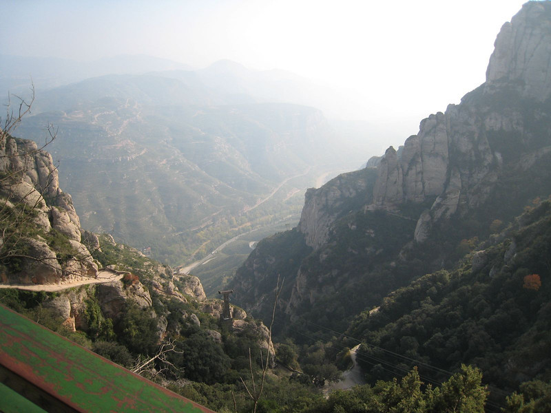 Montserrat - View from the Benedictine Monastery