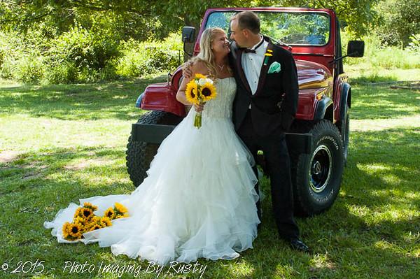 Chris & Missy's Wedding - 8-1-15