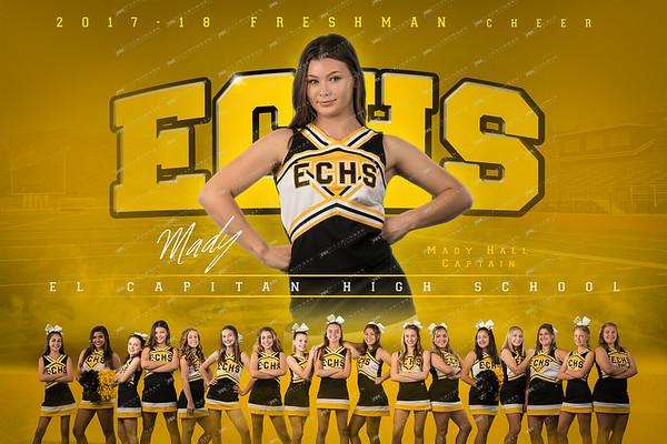 ECHS Freshman Cheer 2017-18