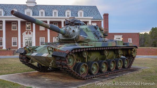 National Guard Armory - Vineland, NJ - 2 M60A3 and M4A3