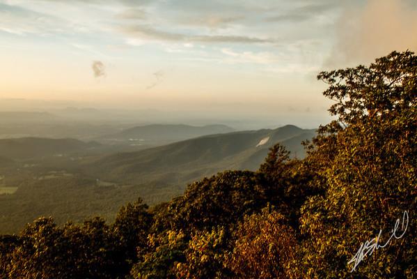 Sunset from Thunder Ridge