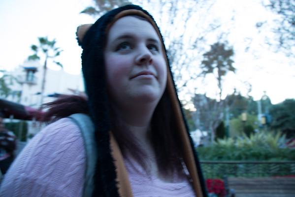 Disneyland with Ashley