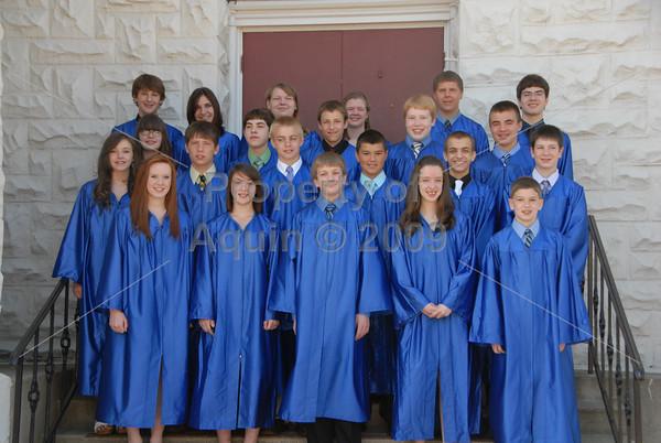 8th grade graduation . 5.29.10