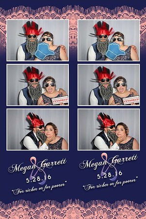 Megan and Garret's Wedding Photobooth