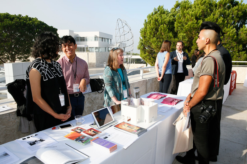 The Pacific Standard Time LA/LA Opening Press Conference at the Getty Museum