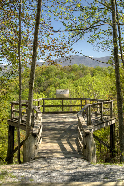 A scenic overlook at Roan Mountain State Park in Roan Mountain, TN on Wednesday, May 15, 2013. Copyright 2013 Jason Barnette