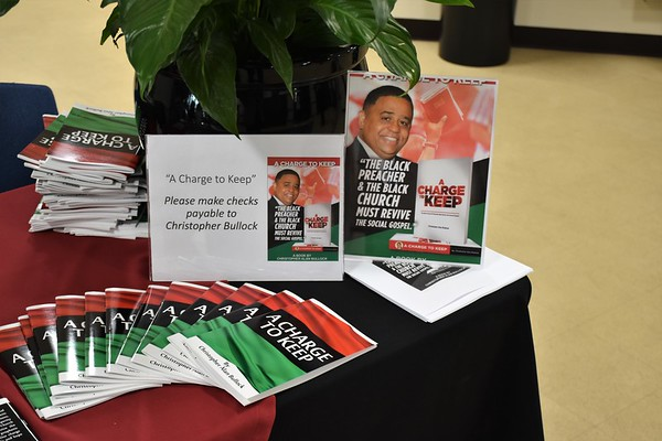 Pastor Christopher A. Bullock Book Signing 5-18-2019