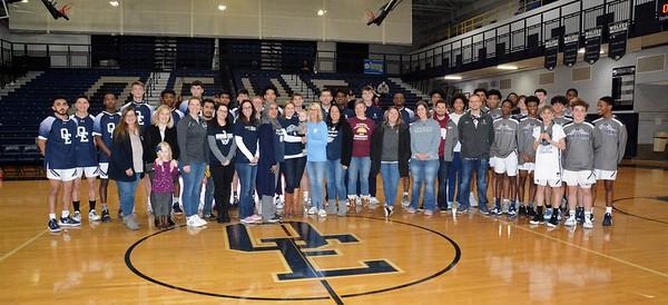 OE Varsity Boys Basketball Vs Yorkville 2020