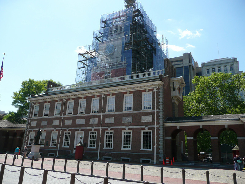 Independence Hall - where the Declaration of Independence and The Constitution were signed.