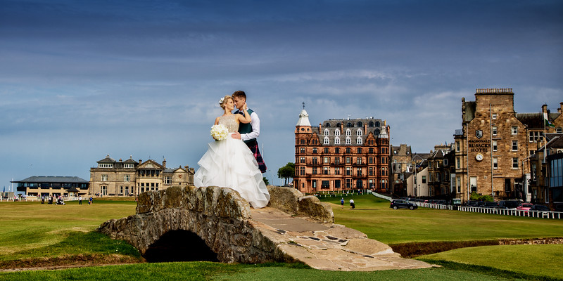 Old Course St Andrews Wedding