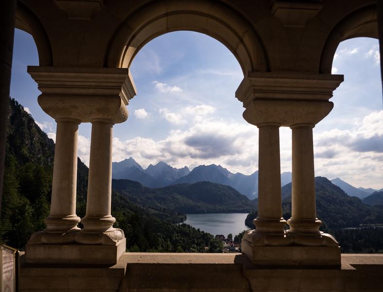 Neuschwanstein View