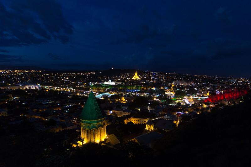 Tbilisi, St Nicholas Church, Sameba Cathedral