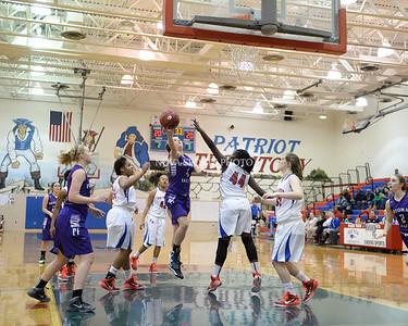 Girls Basketball: Potomac Falls vs. Park View 1.5.15
