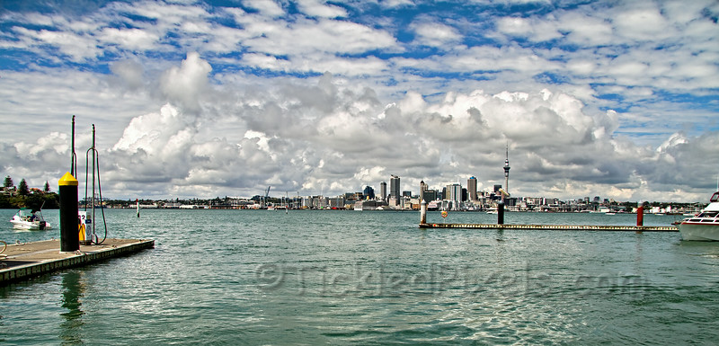 Auckland from Bayswater Marina
