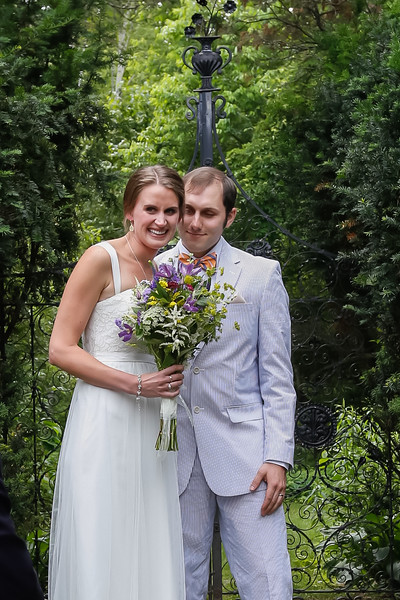 Michelle & Jimmy's Romantic Garden Wedding