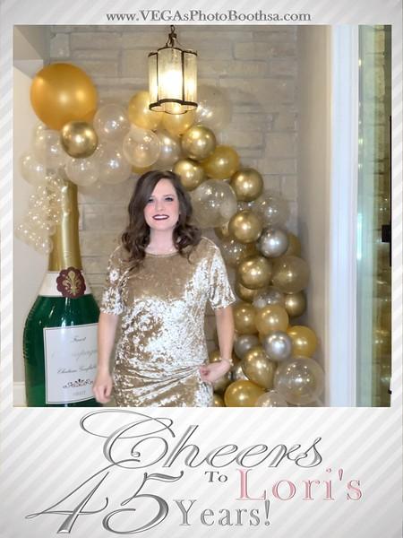 Cheers to Lori's 45 Years
