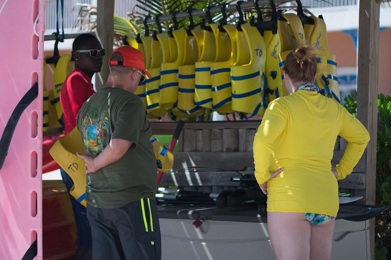 Erin and Trey really enjoyed their snorkel safari