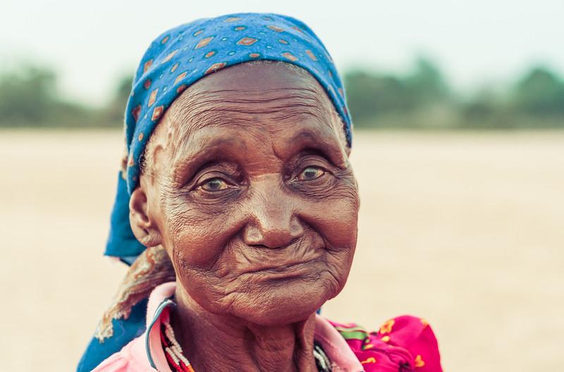 Old Lady In Zimbabwe