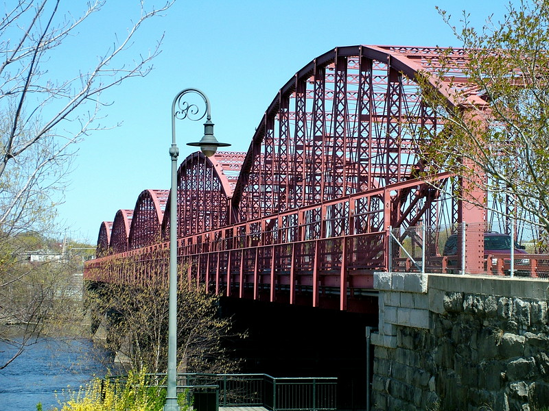 Joseph Oullette Bridge - Aiken St - Lowell, MA