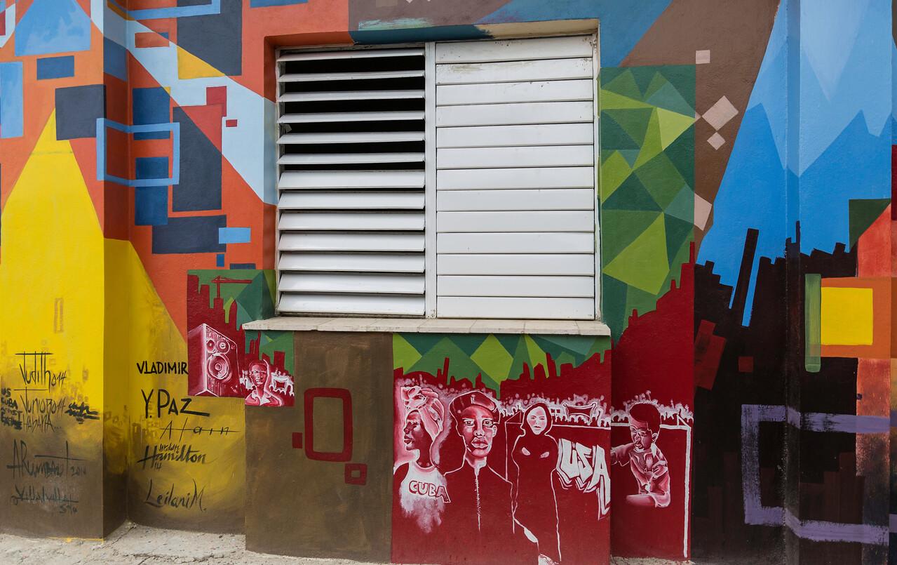 Cuba Graffiti Art