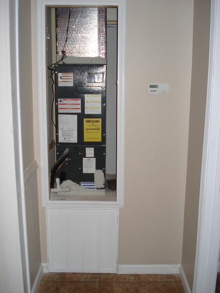 New heat pump installed. ck