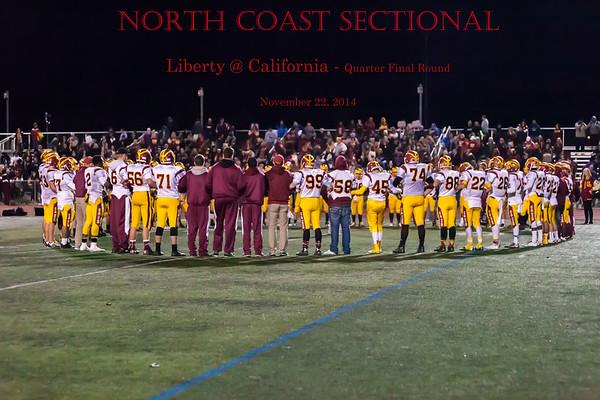 Liberty @ California Varsity NCS 2014_11_22
