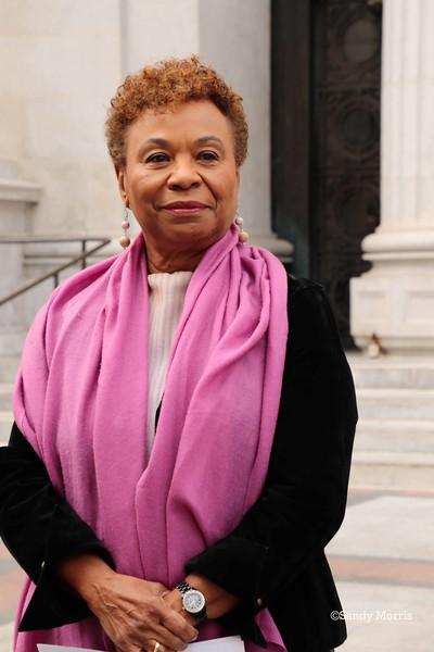 _W5A0394c Congresswoman Barbara Lee ©Sandy Morris.jpg
