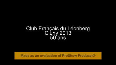 Cluny 2013