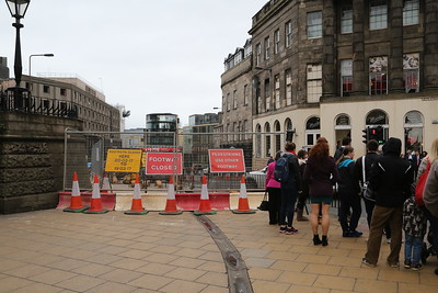 St James Centre demolition