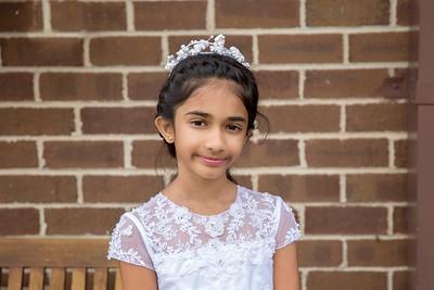 Nithya - First Communion 2016