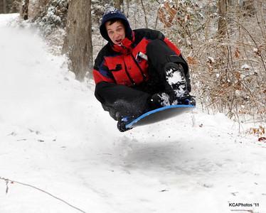 2011 Snow Sledding