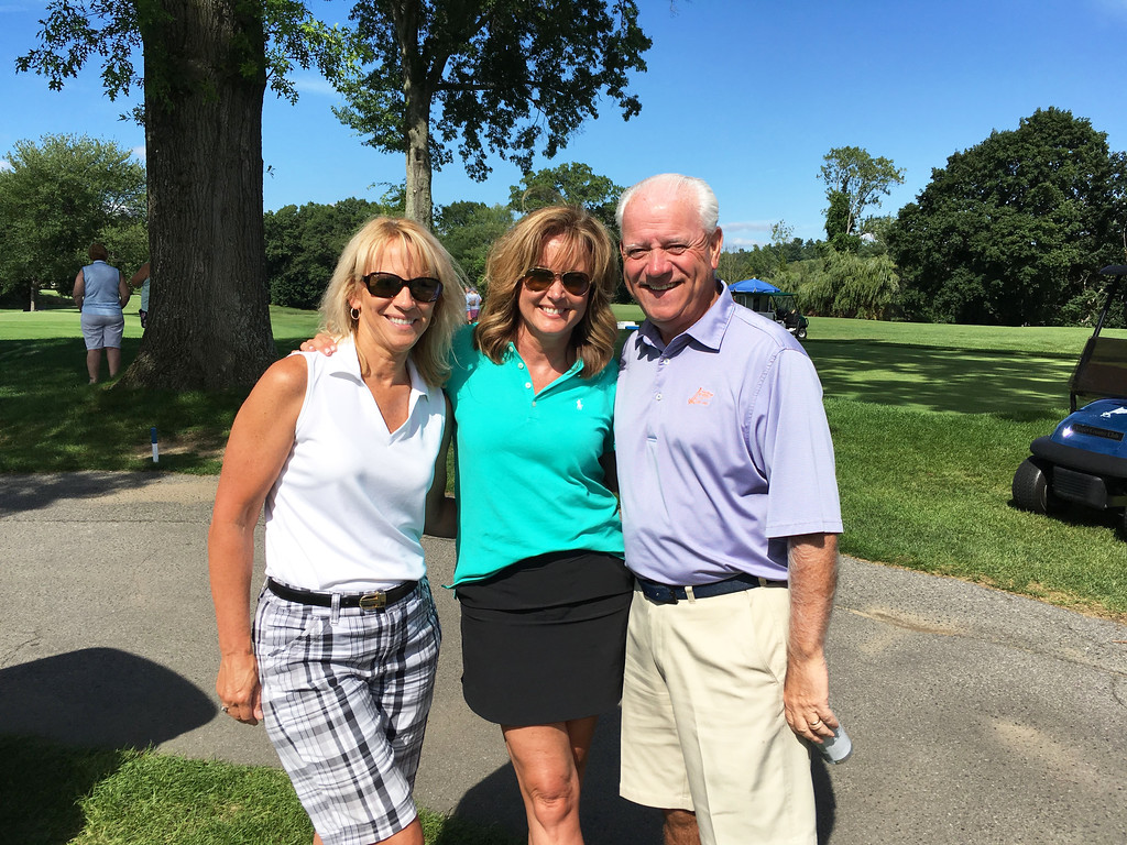 . From left, Cheryl Ward of Groton, with Colleen and John Cox of Tyngsboro