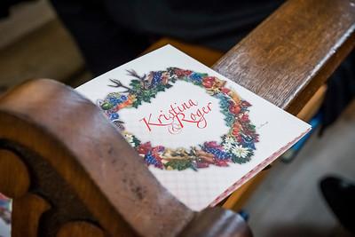 Kristina & Roger's Hochzeits Wochenende - Trauung