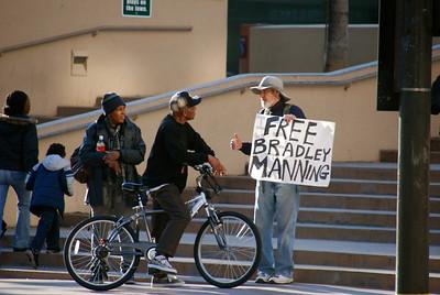 FREE BRADLEY MANNING ~ 12-17-11